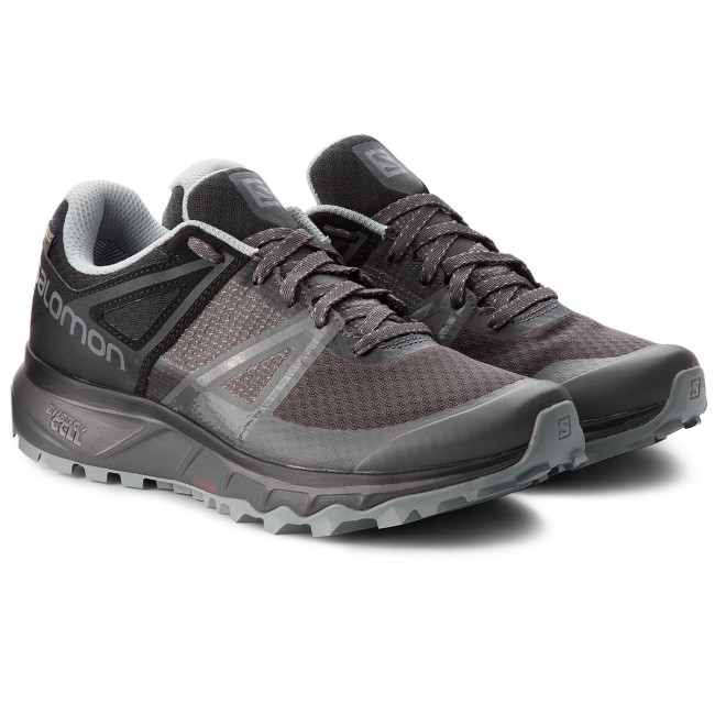 Running 27 Scarpe Trail quarry tex 404882 Magnet Uomo black W0 Salomon Trailster Gtx Gore Sportive sdCrxQhBto