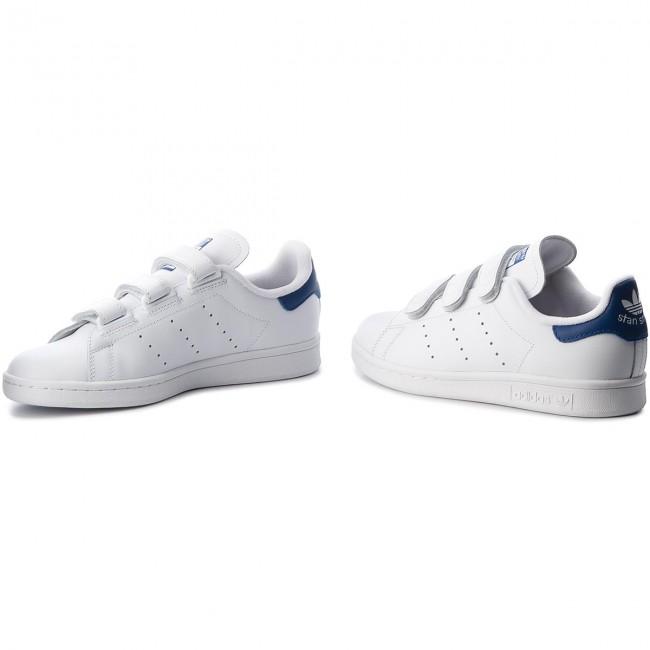 44 Bianco Scarpe Adidas Stan Smith Cf C B32706 Ftwwht