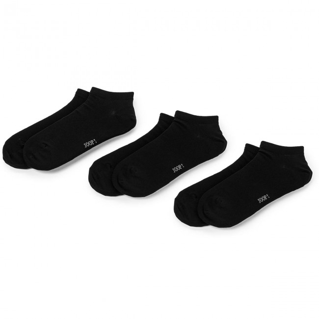 002 Black Paia Cotton 900 Tessili 2000 3 Da Accessori Sneaker Set Corti Uomo Calzini Di Donna JoopSoft QdtrhsCx
