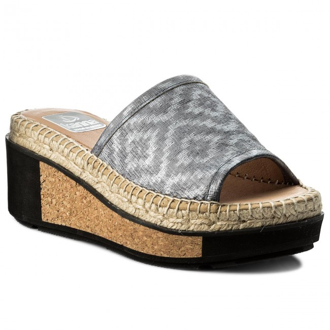 Espadrillas KANNA - KV7218  Ester Gas Gris - Espadrillas - Ciabatte e sandali - Donna