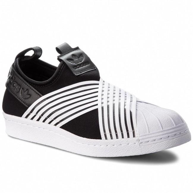 Scarpe adidas Superstar Slip On W D96703 CblackFtwwhtFtwwht