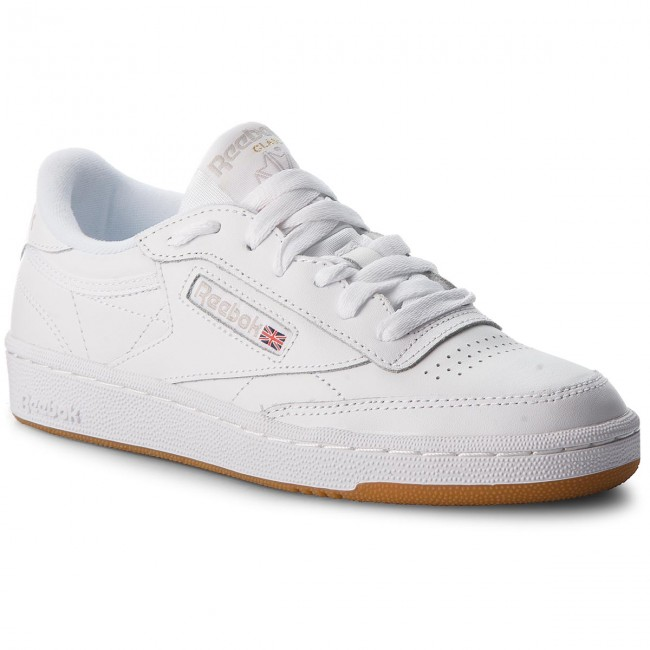 Scarpe Reebok - Club C 85 BS7686  White/Light Grey/Gum