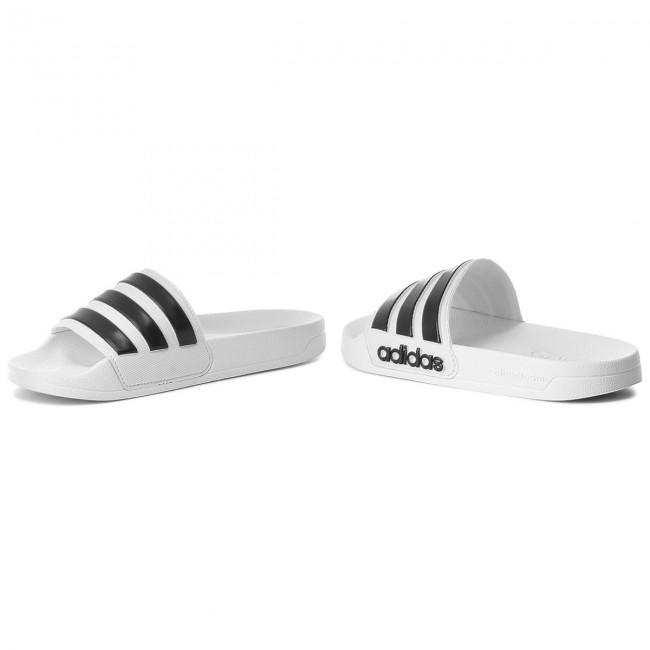Ciabatte adidas - adilette Shower AQ1702 Ftwwht/Cblack/Ftwwht - Ciabatte da giorno - Ciabatte - Ciabatte e sandali - Donna