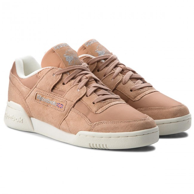 Scarpe Reebok - Workout Lo Plus CN3835 Bare Brown/Chlk/Silver - Sneakers - Scarpe basse - Donna yQ2XM