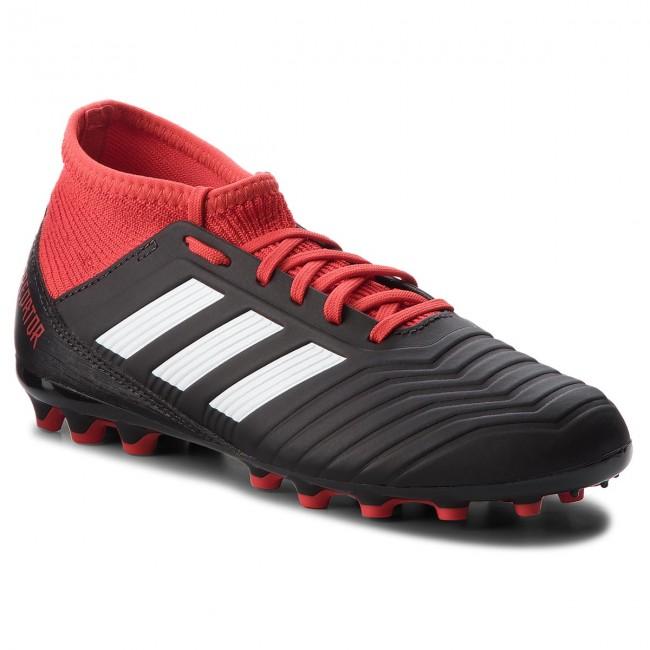 Scarpe adidas - Predator 18.3 Ag J CG6358 Cblack/Ftwwht/Red