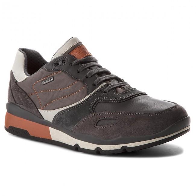 Sneakers GEOX U Sandford B Abx A U44S7A 020FU C9A2T AnthraciteOrange