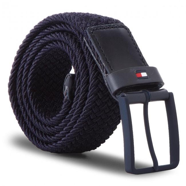 best service db168 0907b Cintura da uomo TOMMY HILFIGER - Solid Modern Elastic AM0AM03479 85 413