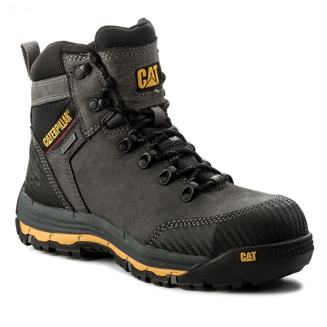 Scarpe da trekking caterpillar escarpe it neri pelle