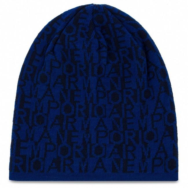 Cappello Armani Emporio Accessori 8a528 Cappelli 12533 404577 Tessili Blue dark Blu Donna Royal PTOXZiuk