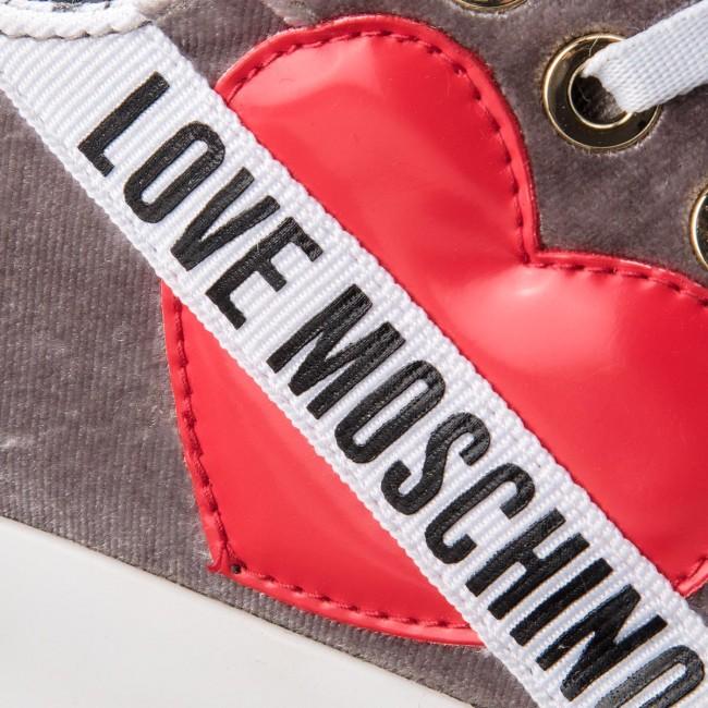 55d52b5753 Scarpe da ginnastica LOVE MOSCHINO - JA15013G16IF001A Grigio