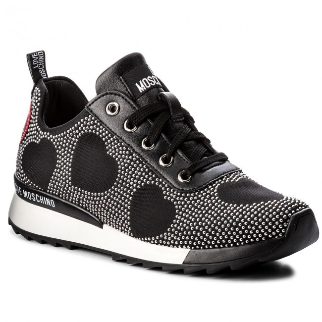 4579fb8c58 Sneakers LOVE MOSCHINO - JA15042G16IH0000 Nero - Sneakers - Scarpe basse -  Donna - escarpe.it