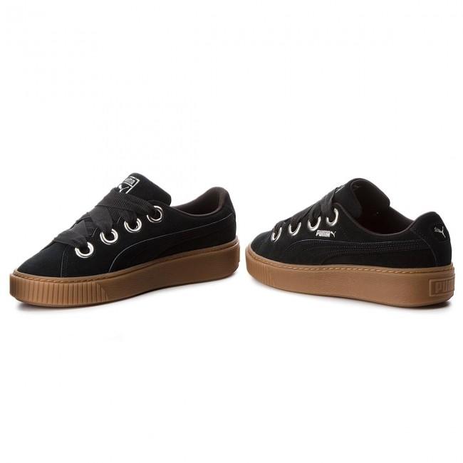 Scarpe da donna sneakers puma platform kiss suede 366461 01