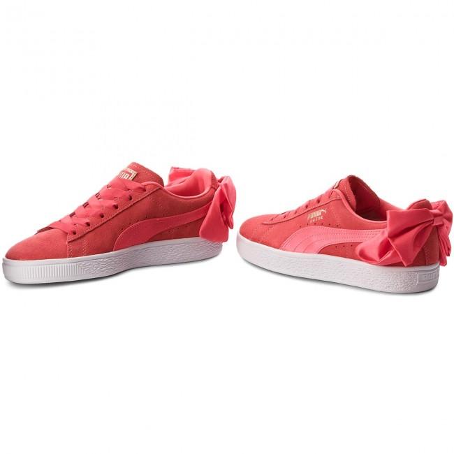 Scarpe Pink Donna 367316 Pink Paradise paradise Suede Bow Jr 02 Basse Sneakers Puma SpMVzU