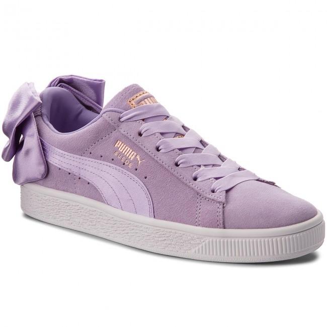 Sneakers PUMA Suede Bow Jr 367316 03 Purple RosePurple Rose