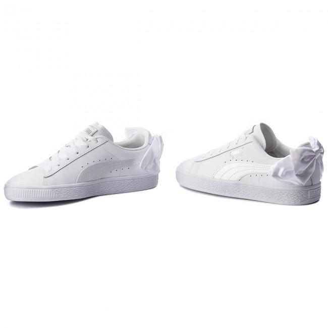 Sneakers PUMA Basket Bow Jr 367321 01 Puma WhitePuma White