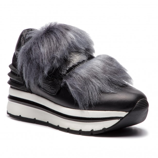 Sneakers VOILE BLANCHE Ginevra Power 0012013187.01.9103 NeroGrigio