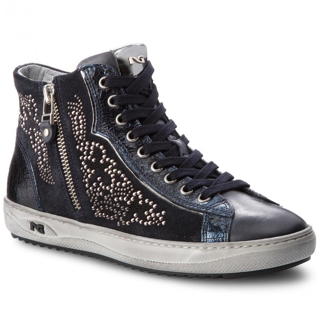 d53e5a00d389 Sneakers NERO GIARDINI - A806471D Musk Blu 200 - Sneakers - Scarpe basse -  Donna - escarpe.it