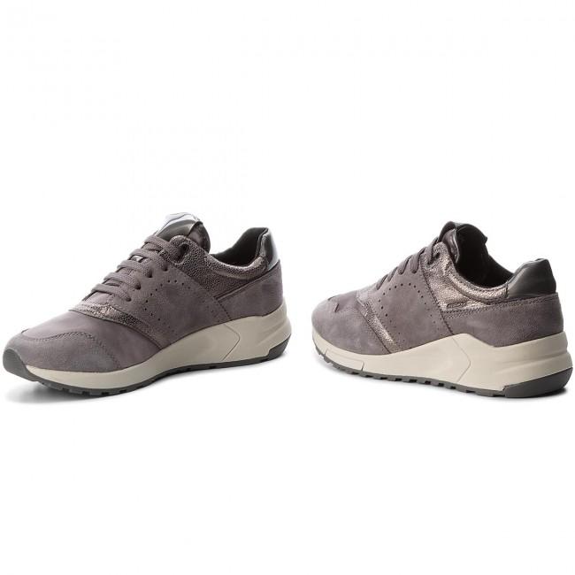 Sneakers GEOX D Phyteam A D724DA 02112 C9002 Dk Grey