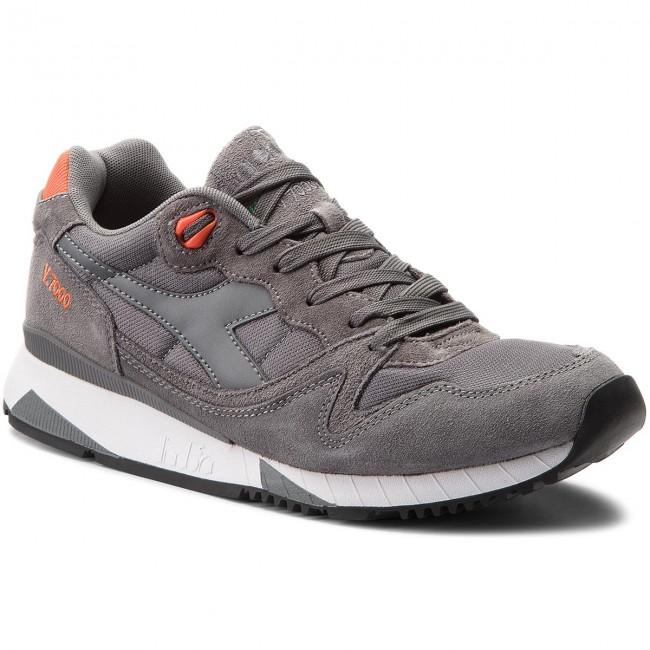 Sneakers DIADORA V7000 Nyl II 501.170939 01 C6279 Steel GrayVermillion Ora