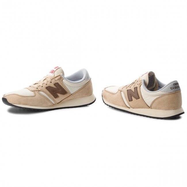 Sneakers NEW BALANCE U420BBG Beige Marrone