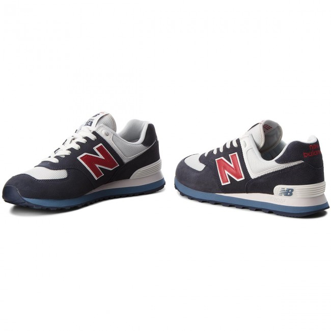 finest selection 848c9 9d71e Sneakers NEW BALANCE - ML574ESC Blu scuro - Sneakers ...
