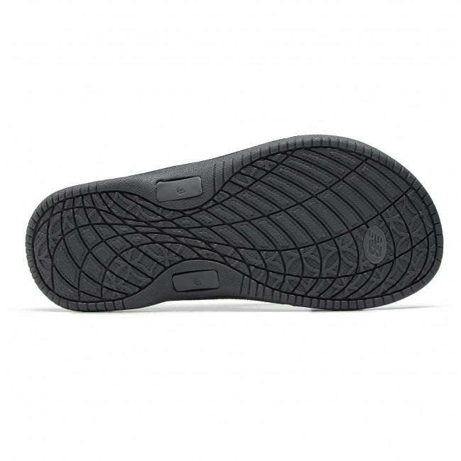 E New W6091bgr grey Ciabatte Black Donna Sandali Infradito Balance W2I9DEH