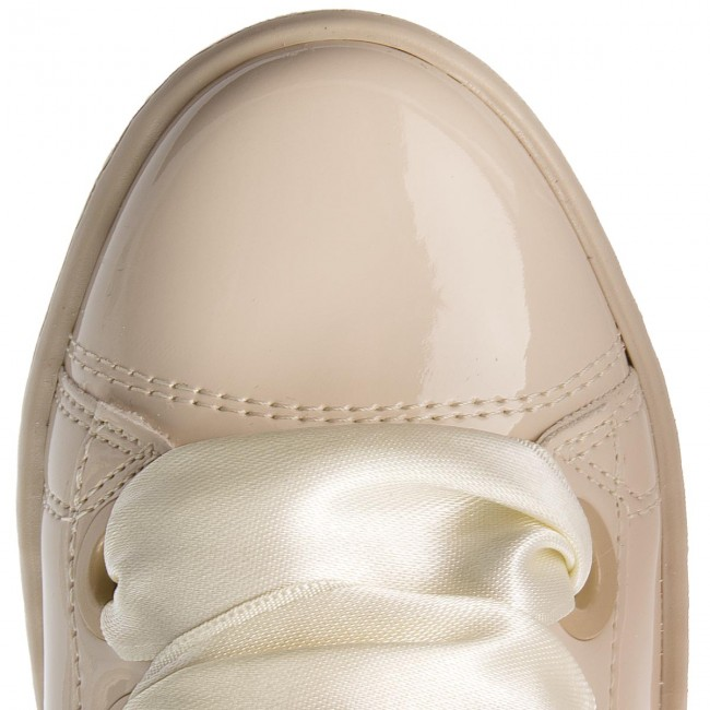 Paf12 Donna Scarpe Sneakers Guess Beige Basse Flurn3 NwO0PnXZk8