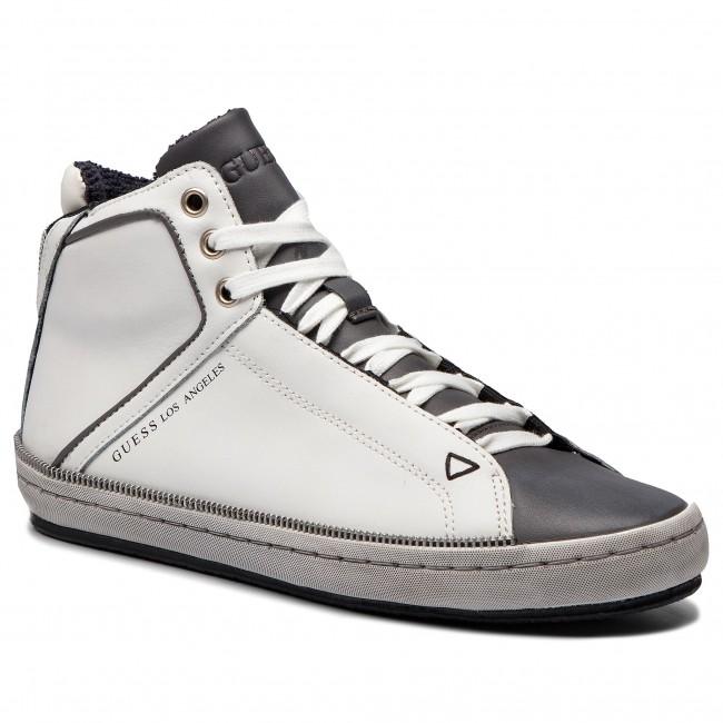 Fmmid4 Uomo White Wxnpkn80oz Scarpe Sneakers Guess Basse Lea12 qSUzMVGLp