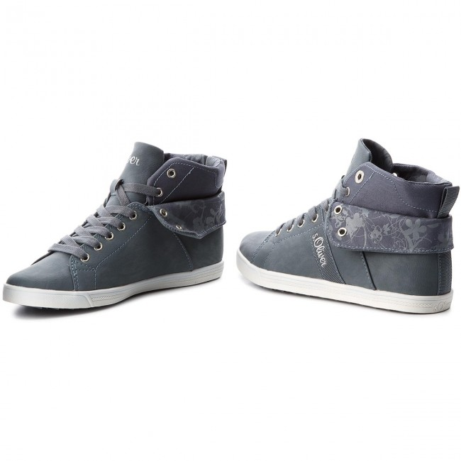 S Donna 25208 20 Basse Sneakers 802 Denim Scarpe oliver 5 pUVGzMqS