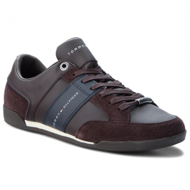 Sneakers TOMMY HILFIGER Corporate Material M FM0FM01778 Coffee Bean 212