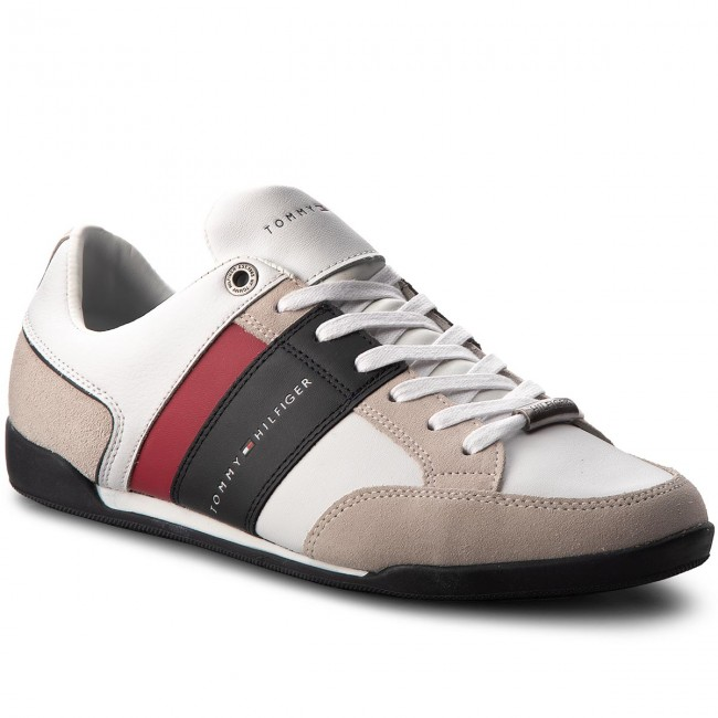 Sneakers TOMMY HILFIGER Corporate Material M FM0FM01778 White 100