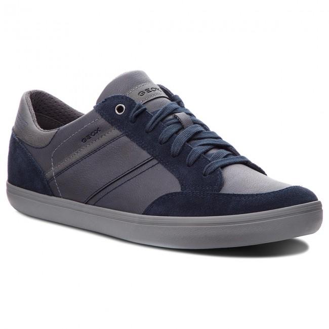 Sneakers GEOX U Box F U84R3F 0ME22 CF49A NavyAnthracite