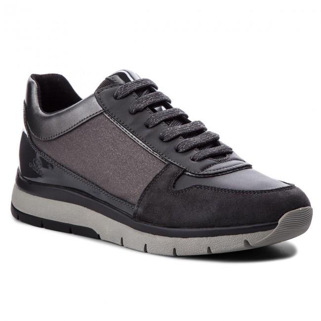 2551e3f86e Sneakers GEOX - D Callyn D D849GD 0EWBC C1G9A Gun/Anthracite