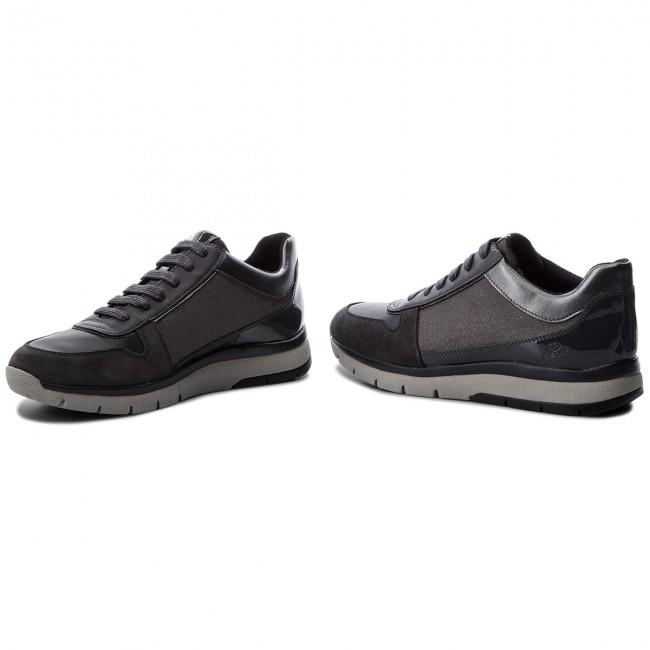Sneakers GEOX D Callyn D D849GD 0EWBC C1G9A GunAnthracite