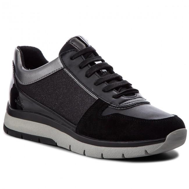 d3526437df Sneakers GEOX - D Callyn D D849GD 0EWBC C9999 Black