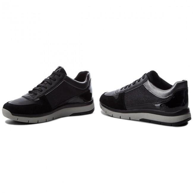 Sneakers GEOX D Callyn D D849GD 0EWBC C9999 Black