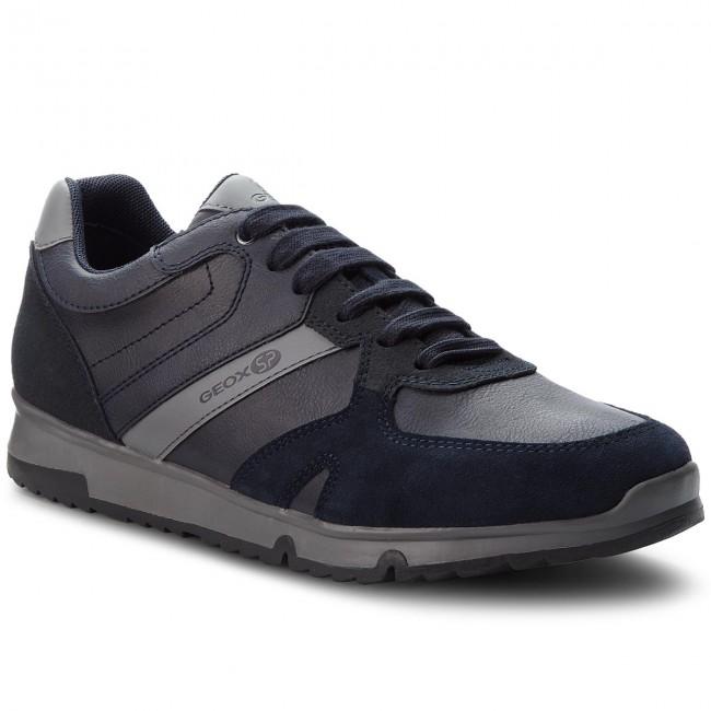 Sneakers GEOX U Wilmer B U823XB 0ME22 C5097 Rock
