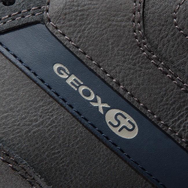 dirt cheap best sneakers 100% authentic Sneakers GEOX - U Wilmer B U823XB 0ME22 C9004 Anthracite