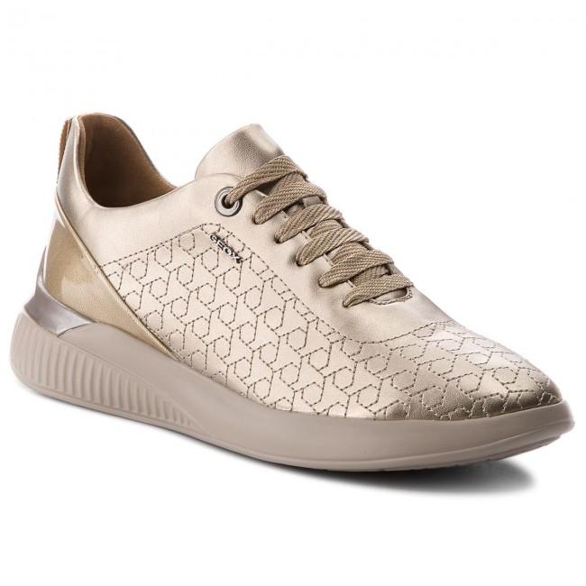 Sneakers GEOX D Theragon C D828SC 0NFHI CB500 Champagne
