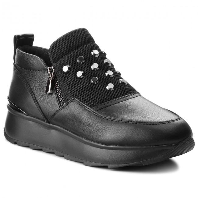 Sneakers GEOX D Gendry A D745TA 08554 C9999 Black