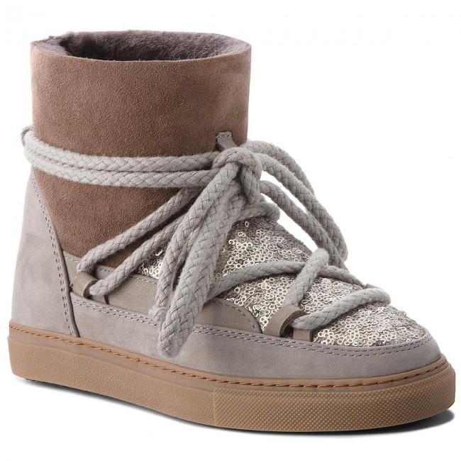 Scarpe INUIKII Sneaker 70202 7 Sequin Grey