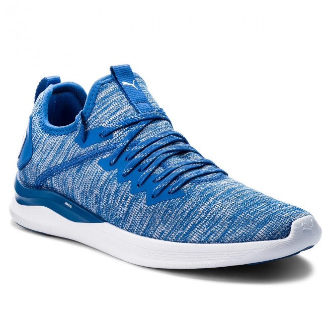 Scarpe PUMA Ignite Flash EvoKnit 190508 13 Strong BlueWhite