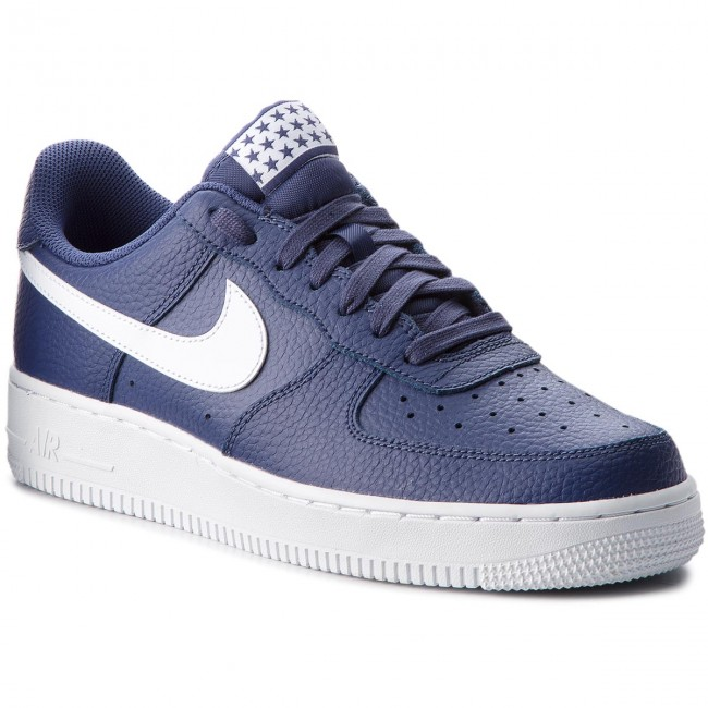 AA4083 009 Nike Air Force 1 '07 NereNere Bianche