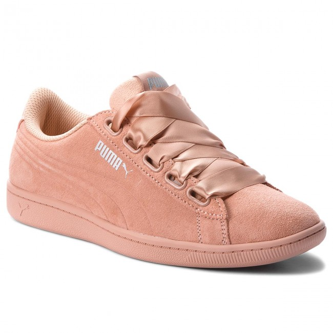 9786ba6b6 SNEAKERS PUMA BASKET BOW LUXE WN S 367851 01 DUSTY CORAL WHITE DONNA ...