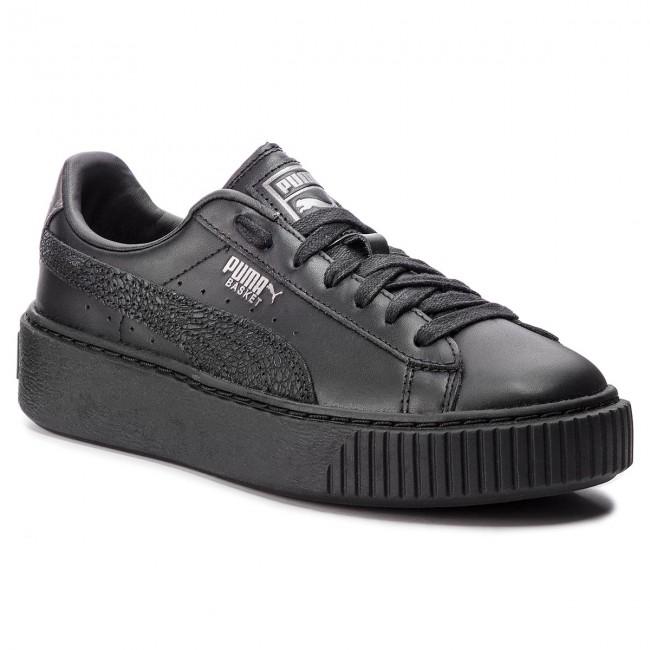 Metal Black Donna Sneakers Puma Silver Scarpe Basket 367850 Platform Aged Basse Euphoria puma 02 zGSMpqUV