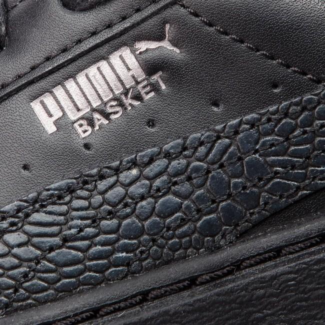 625547d3f7 Sneakers PUMA - Basket Platform Euphoria Metal 367850 02 Puma Black/Puma  Aged Silver