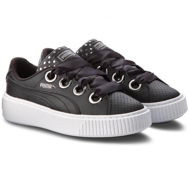 Sneakers PUMA - Platform Kiss Ath Lux Wn's 366704 02 Puma Black/Puma Black - Sneakers - Scarpe basse - Donna