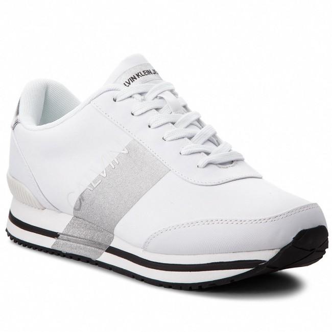 Sneakers CALVIN KLEIN JEANS Elwin SE8592 WhiteSilver