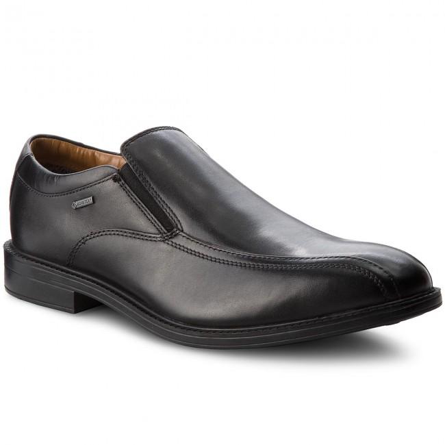 disponibilità nel Regno Unito 2f77c 0649d Scarpe basse CLARKS - Chilvergo Gtx GORE-TEX 261277447 Black Leather