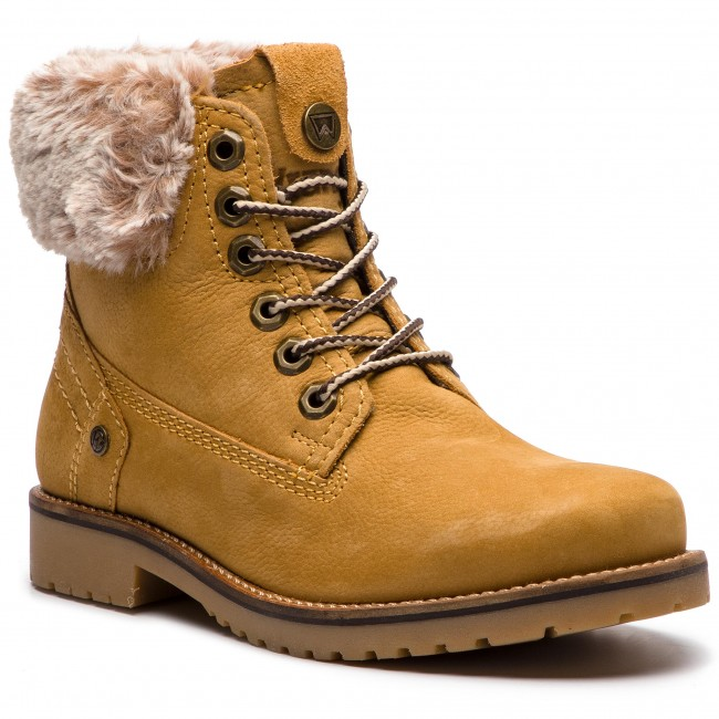 pretty nice c4d76 3db45 Scarponcini WRANGLER - Creek Alaska WL182502 Tan Yellow 24